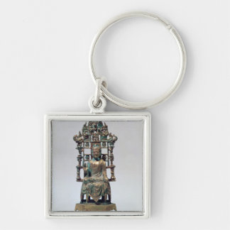 Statuette of Buddha in meditation Tang Keychains