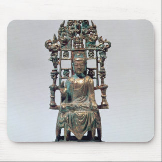 Statuette of Buddha in meditation, Tang Mousepads