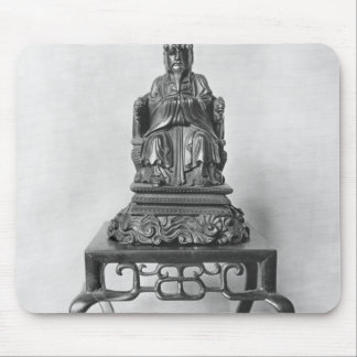 Statuette of Confucius as a Mandarin, Qing Mouse Pad