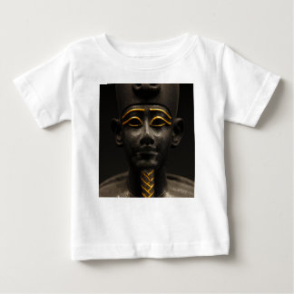 Statuette of Late Period Egyptian God Osiris Baby T-Shirt