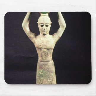 Statuette of offering bearer with votive mouse pad