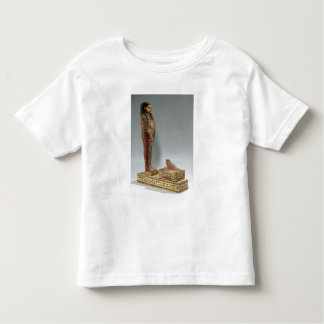 Statuette of Osiris of Iahmes (painted wood) T-shirts