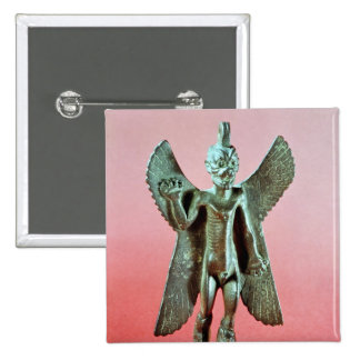 Statuette of Pazuzu, an Assyrian wind demon Pinback Button