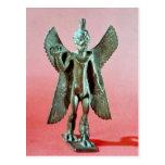 Statuette of Pazuzu, an Assyrian wind demon Postcard