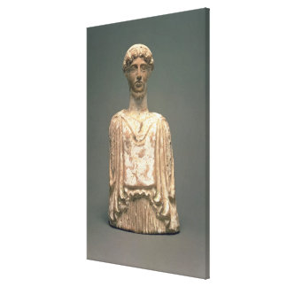Statuette of Persephone Attic c 500 BC terracot Gallery Wrapped Canvas