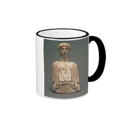 Statuette of Persephone, Attic, c.500 BC (terracot Ringer Coffee Mug