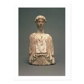 Statuette of Persephone, Attic, c.500 BC (terracot Postcard