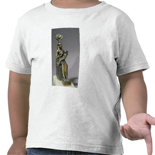 Statuette of the goddess Isis and the child Horus Tees