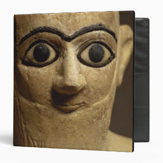 Statuette of the official or steward Ebih-Il worsh 3 Ring Binder