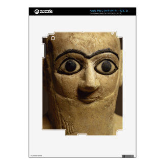 Statuette of the official or steward Ebih-Il worsh iPad 3 Skins