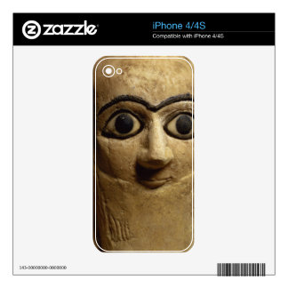 Statuette of the official or steward Ebih-Il worsh Skins For iPhone 4