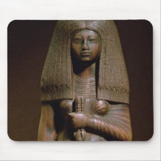 Statuette of the Tuya, head of the harem of Min, N Mouse Pad
