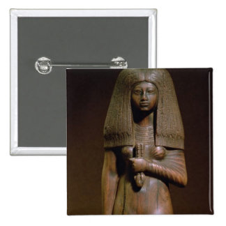 Statuette of the Tuya, head of the harem of Min, N Pinback Button