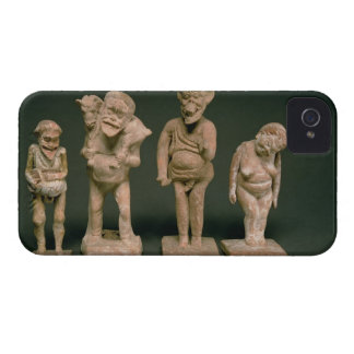 Statuettes of Actors and Actresses, Hellenistic, c Case-Mate iPhone 4 Case