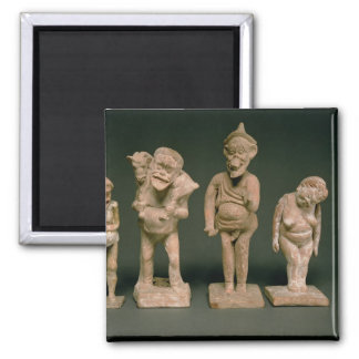 Statuettes of Actors and Actresses Hellenistic c Fridge Magnet