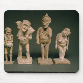 Statuettes of Actors and Actresses, Hellenistic, c Mouse Pad