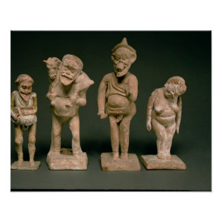Statuettes of Actors and Actresses, Hellenistic, c Posters