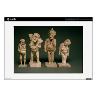 Statuettes of Actors and Actresses, Hellenistic, c Skins For Laptops