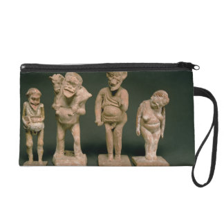 Statuettes of Actors and Actresses, Hellenistic, c Wristlet Purse