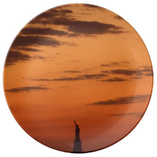 Stature of Liberty Art Plate
