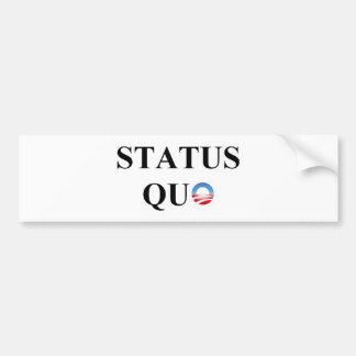 STATUS QUO BUMPER STICKER