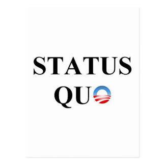 STATUS QUO POSTCARD