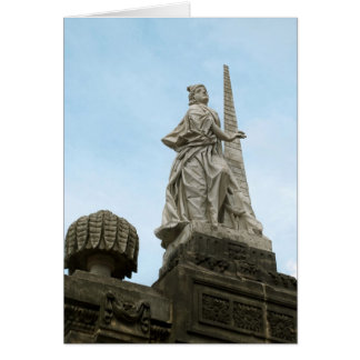 Statute of Fortidude in Bamberg Card