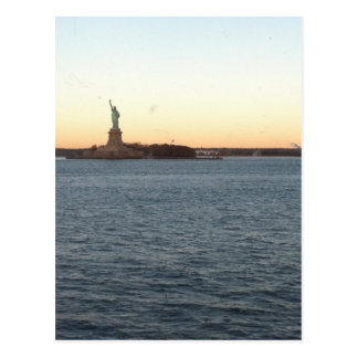 Statute of Liberty Love Postcard