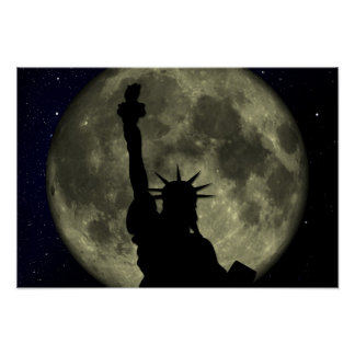 Statute of Liberty Poster - Customizable