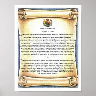 Statute of Monopolies Poster