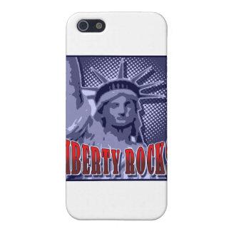 Staue de la libertad ¡Rocas de la libertad iPhone 5 Carcasas