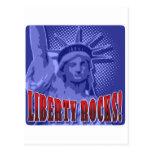 Staue de la libertad: ¡Rocas de la libertad! Postales
