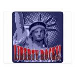 Staue de la libertad: ¡Rocas de la libertad! Tarjetas Postales