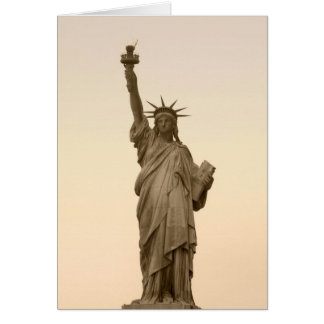 Staue Of Liberty Card