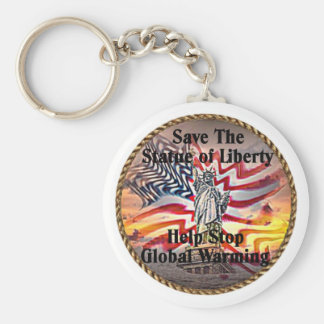 Staue of Liberty Keychain