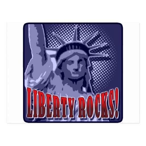 Staue Of Liberty: Liberty Rocks! Postcards