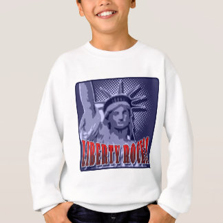 Staue Of Liberty: Liberty Rocks! Sweatshirt