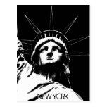 Staue of Liberty Postcard Custom New York Postcard