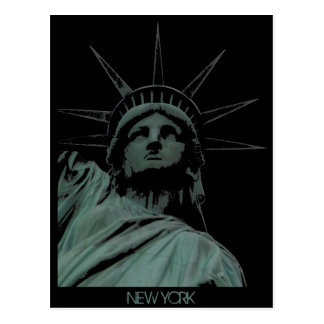 Staue of Liberty Postcard Custom New York Postcard