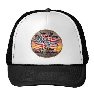 Staue of Liberty Trucker Hat