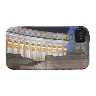 Staue y columnas en el monumento Vittorio iPhone 4 Fundas