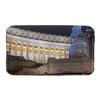 Staue y columnas en el monumento Vittorio iPhone 3 Case-Mate Cárcasas