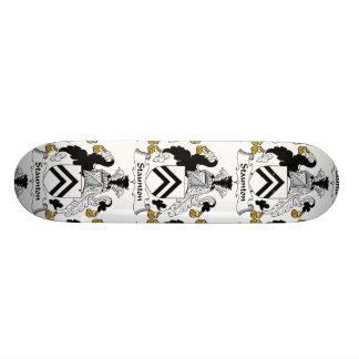 Staunton Family Crest Skateboard Deck