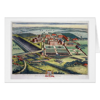 Staunton Harold in the county of Leicester engrave Greeting Card