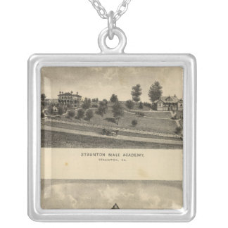 Staunton Male Academy Personalized Necklace