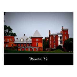 Staunton Va Postcards