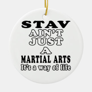 Stav Ain't Just A Game It's A Way Of Life Christmas Ornament