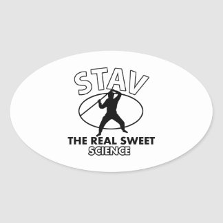 Stav Martial Arts Design Stickers