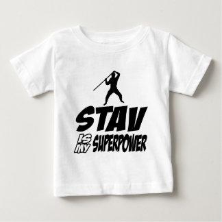 stav my superpower infant t-shirt