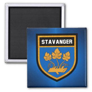 Stavanger  Flag Magnet